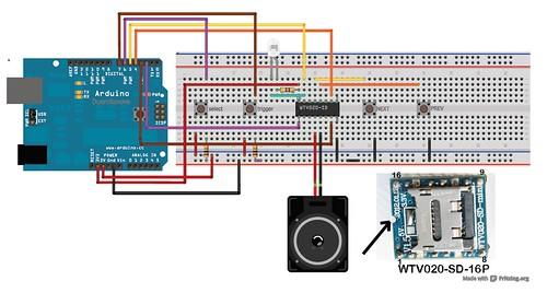 WTV020SD EXPERIMENTS