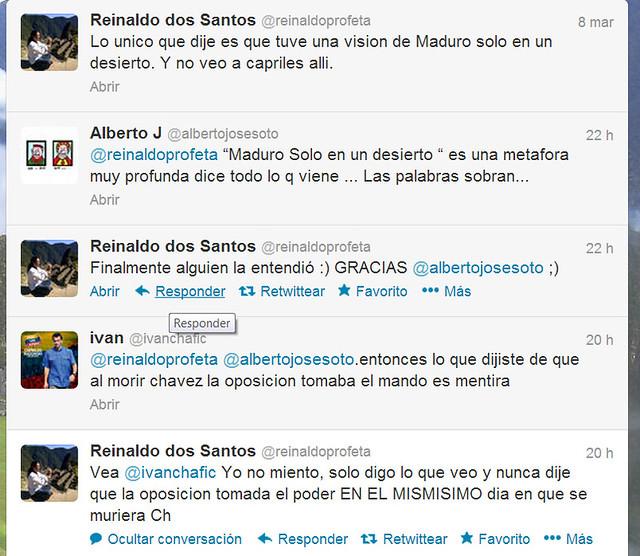predicciones de Dos Santos