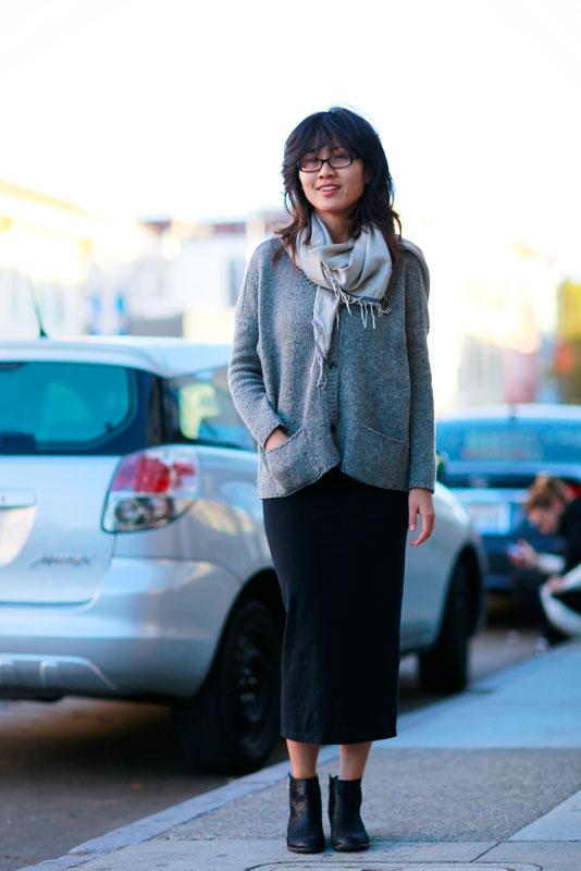 mimi street style, street fashion, women, San Francisco, Valencia Street