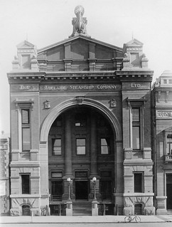 Adelaide Steamship Company building, Currie Street, 1917