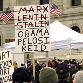 Bushs stallning hotas av republikansk revolt