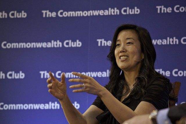 Michelle Rhee at The Commonwealth Club of California from Flickr via Wylio