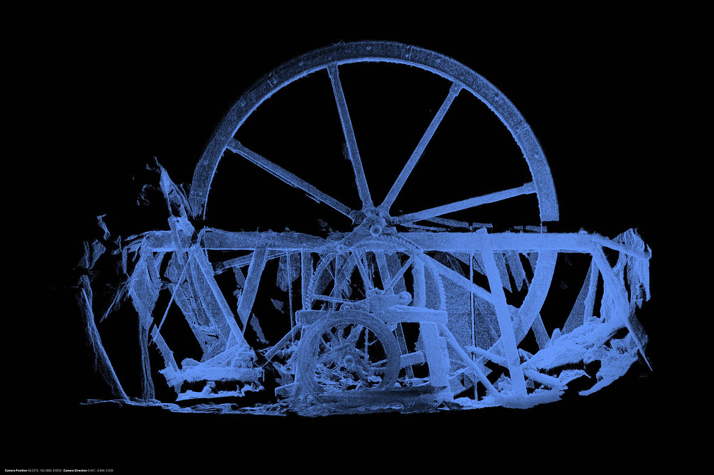 Underground waterwheel