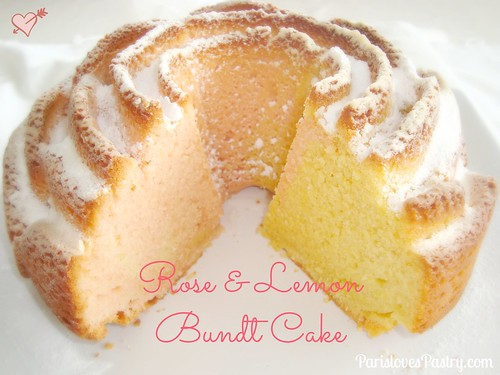 Rose & Lemon Bundt Cake