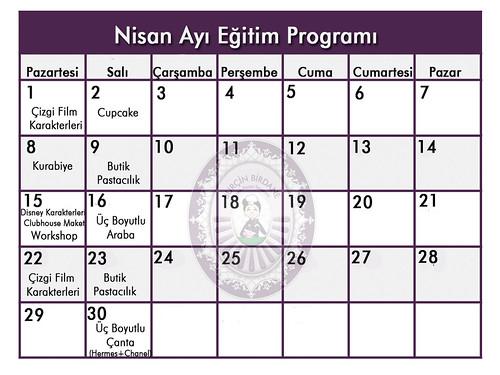 Egitim Programi Nisan