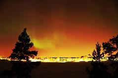 Northern lights in Helsinki 17.3.2013