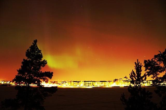 Aurora Boreal en Helsinki