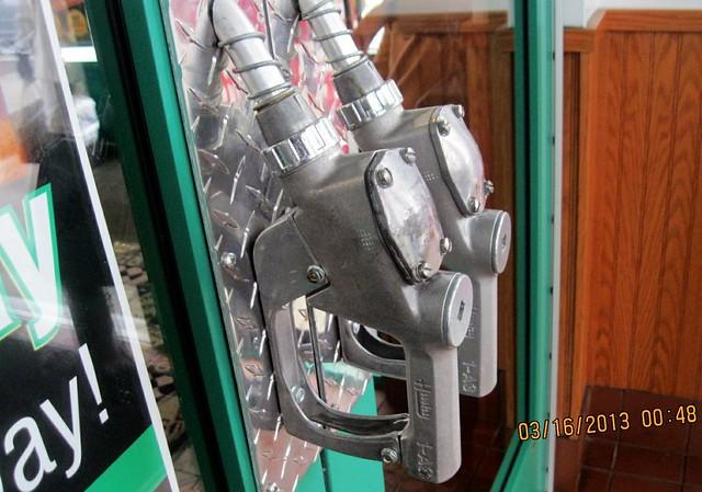 Gas Pump Handles