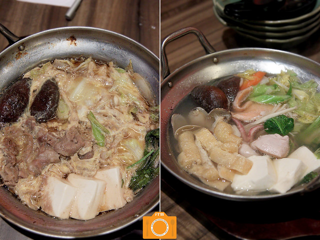 Watami Beef Sukiyaki and Hot Pot