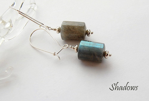 Shadows Earrings by gemwaithnia