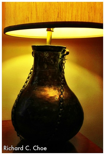 Jack's Lamp 1 (water jug) by rchoephoto