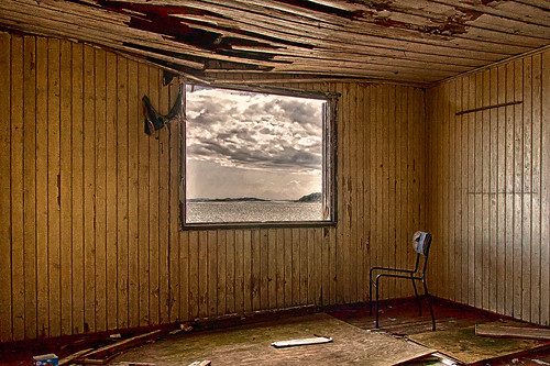A room with a view by photographer Hans Wessberg