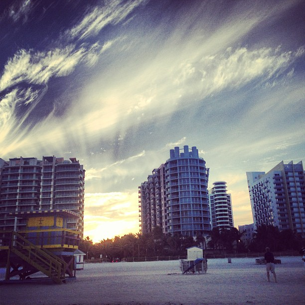 #miami #southbeach #cloudporn