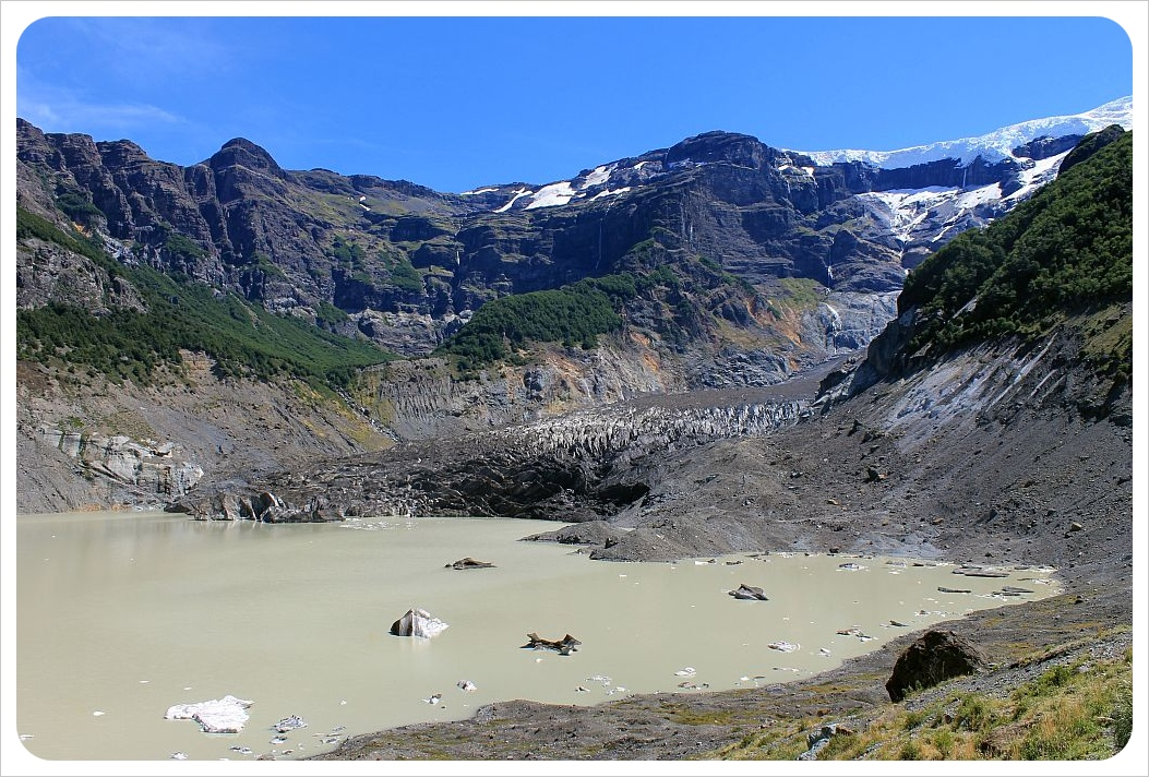 visit the Black Glacier