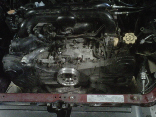 Tracking down source of low oil pressure - Subaru Legacy Forums