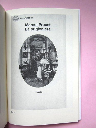 Proust e gli oggetti, a cura di G. G. Greco, S. Martina, M. Piazza. Le Cáriti Editore 2012. Impaginazione e grafica: DMD. Tavola 5 (part.), 1