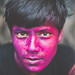 Face of Holi by A. adnan