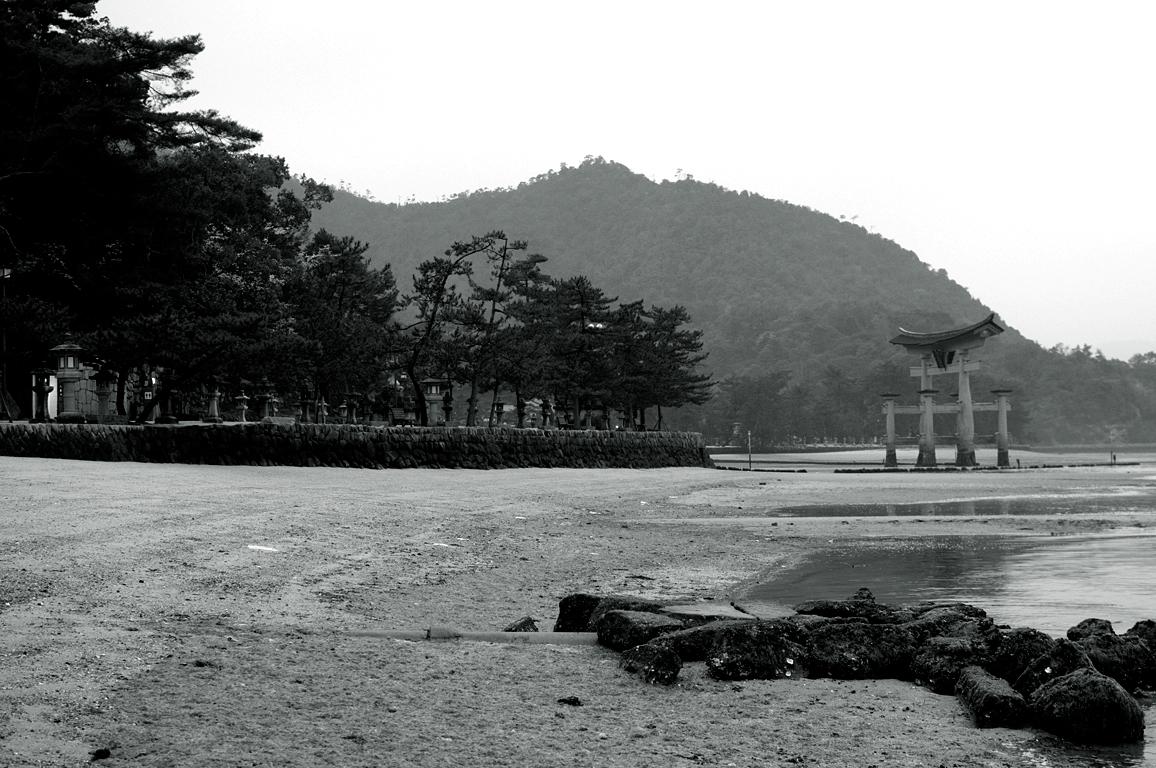 大鳥居のある風景|宮島
