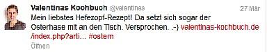 Valentinas Tweet