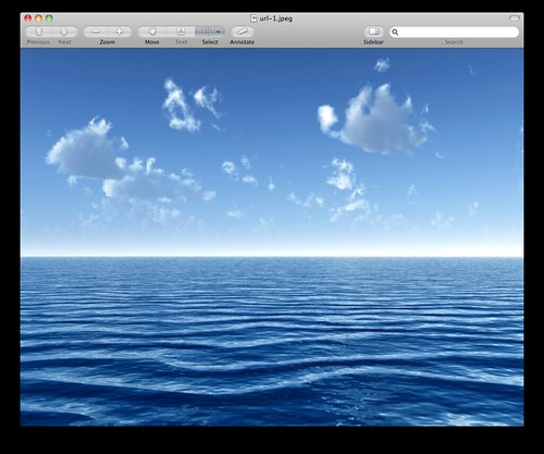 Original Ocean Image (Storm)