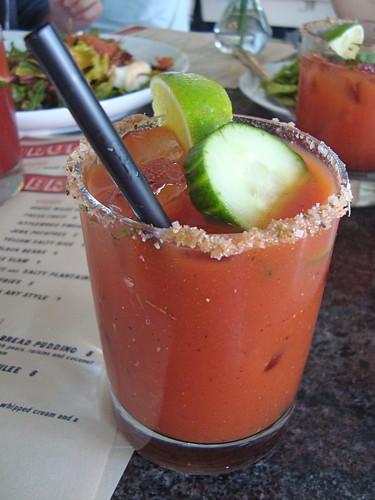 Bloody Mary at Sunny Spot