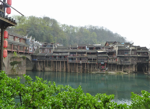 Hunan13-Fenghuang-Ville-Rive Nord (36)