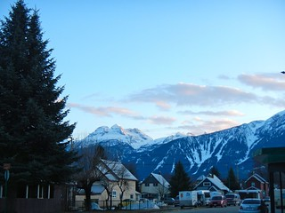 Revelstoke BC Alpenglow and Sunset