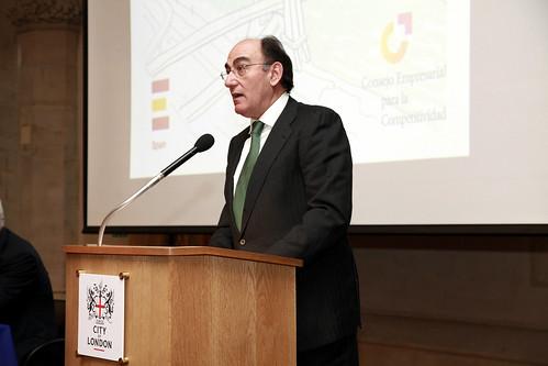Ignacio Galán, de Iberdrola en Londres