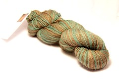 Budding Sock Yarn Minty Mocha