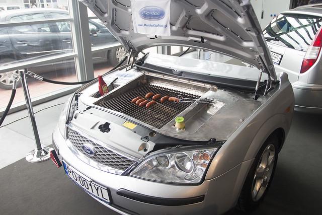 Car Grill - Motor Show Poznań