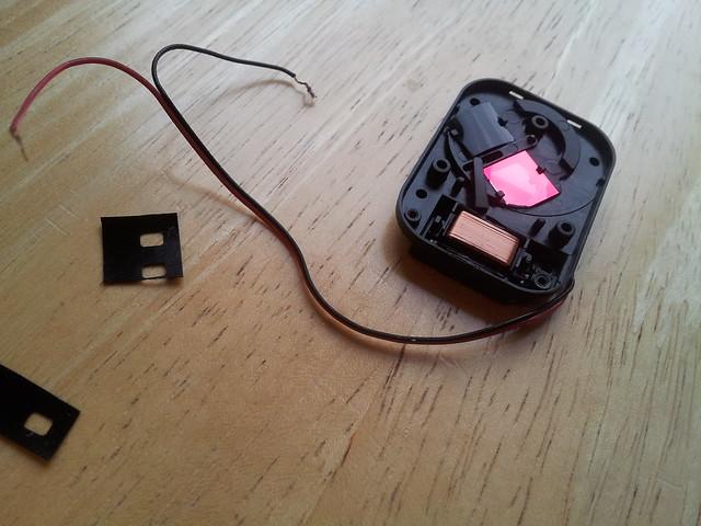 modding filter switcher with IR pass filter