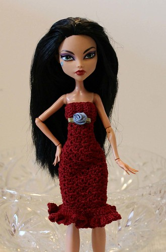 Monster High dress, front
