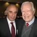 Con ex Pdte de EEUU Jimmy Carter en seminario sobre Democracia y Derechos Humanos,  en American University, Washington , Marzo 2013.
