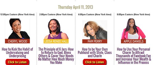 pam perry telesummit with Leesa Hall by pamperry1
