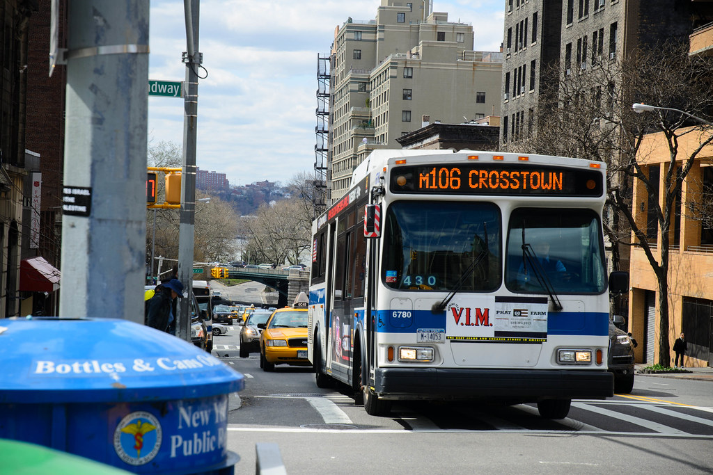New York Mta Nyc Bus Orion Vii 2nd Gen 6780 On The M106 Flickr