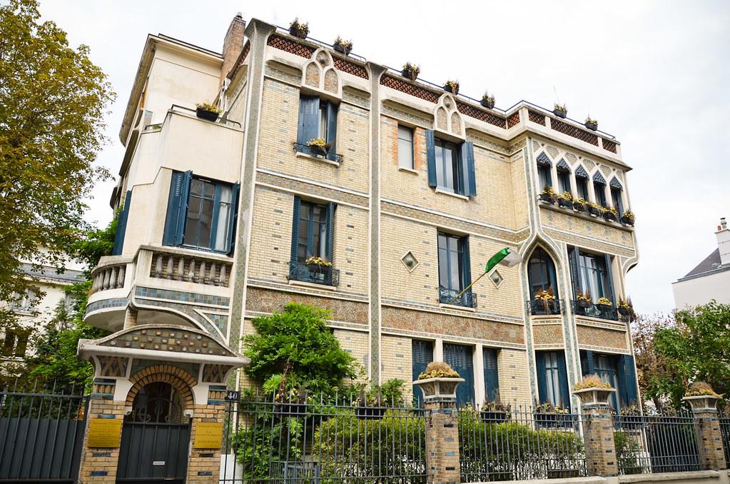 L'hôtel Danois - Ambassade d'Algérie