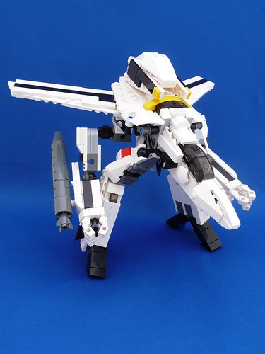 VF-1S Valkyrie Skull Leader Gerwalk Mode