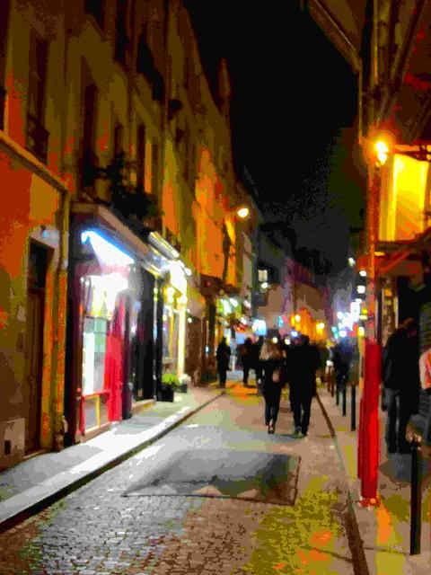 Par la rue Mouffetard