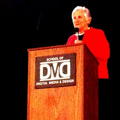 Dr. Diane Ravitch speaking to San Diego educators. #hero