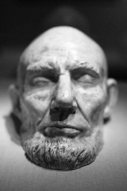 Abraham Lincoln Death Mask Flickr Photo Sharing