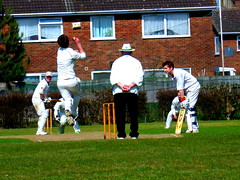 Action at South Holderness Cricket Club