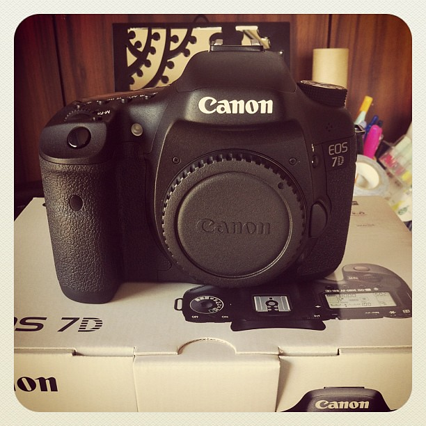 Oh my... This prince finally came to my home!! Whew!  #canon #eos7d