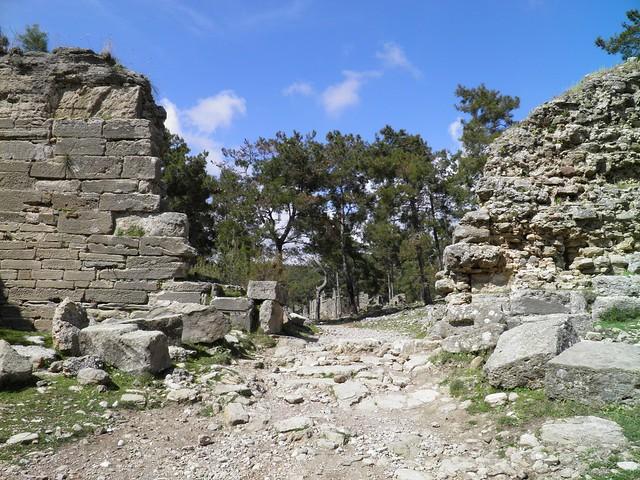 City Gate, Seleukeia (Lyrbe), Pamphylia, Turkey