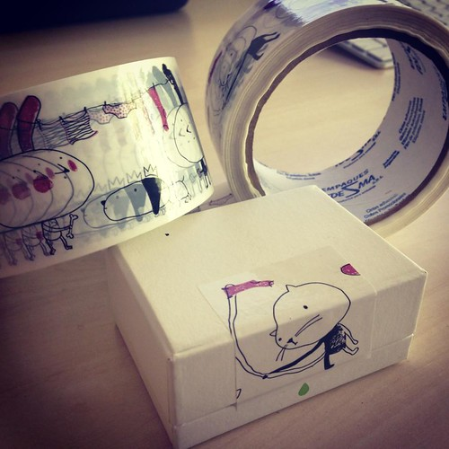 adhesive tape by Yaelfran