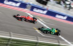 Caterham F1 vs Marussia F1