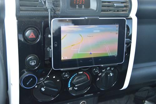 Nexus 7 FJ Cruiser Install