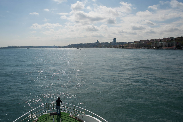Bosphorus, looking South