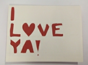 I Love Ya Card II