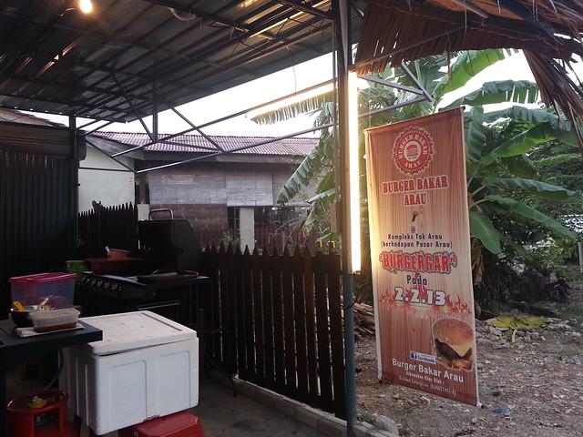 Burger Bakar Arau