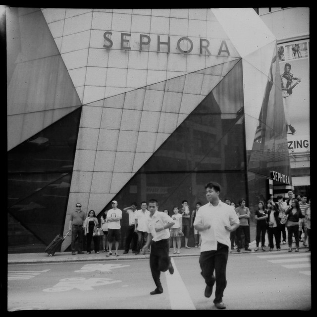 Jalan Bukit Bintang, Kuala Lumpur.